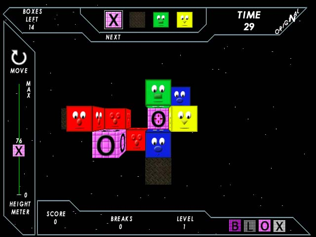 Screenshot of Tetris Blox
